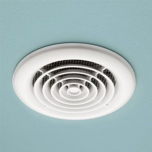 HiB Cyclone Inline White Wetroom Extractor Fan