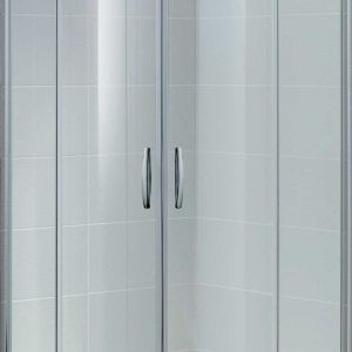April Identiti Double Door Quadrant Shower Enclosure