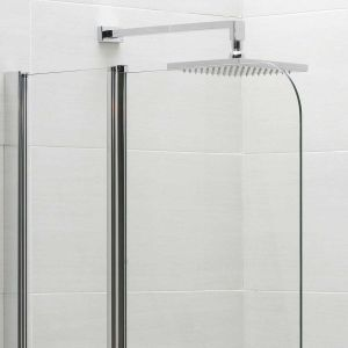April Identiti Fixed Panel Shower Screen Curve
