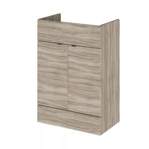 Hudson Reed Fusion Driftwood Slimline Combination Furniture Pack 1100mm