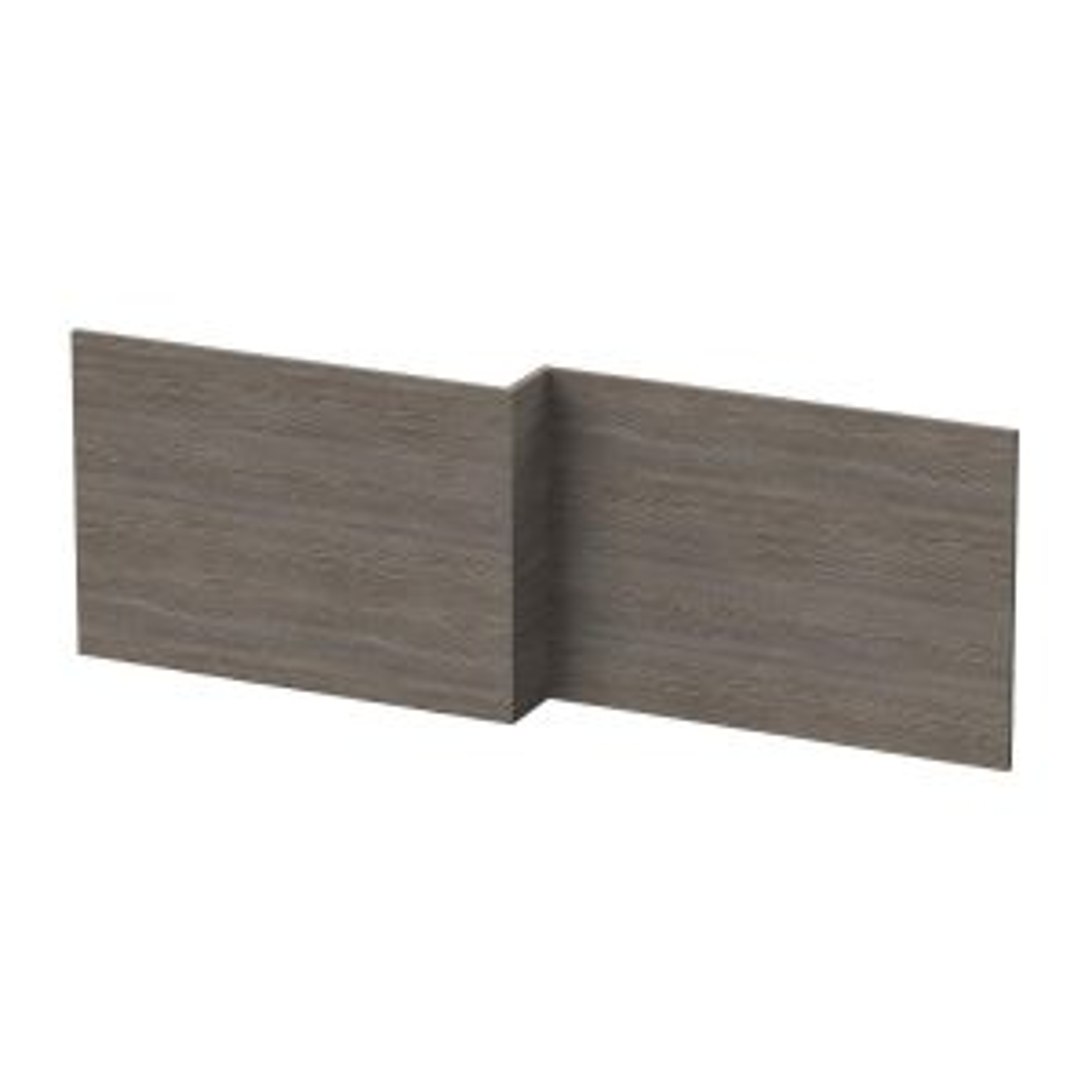 Hudson Reed Grey Avola L Shape Shower Bath Front Panel 1700mm