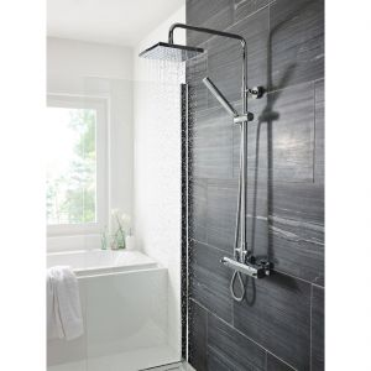 Hudson Reed Tiamo Thermostatic Mixer Shower