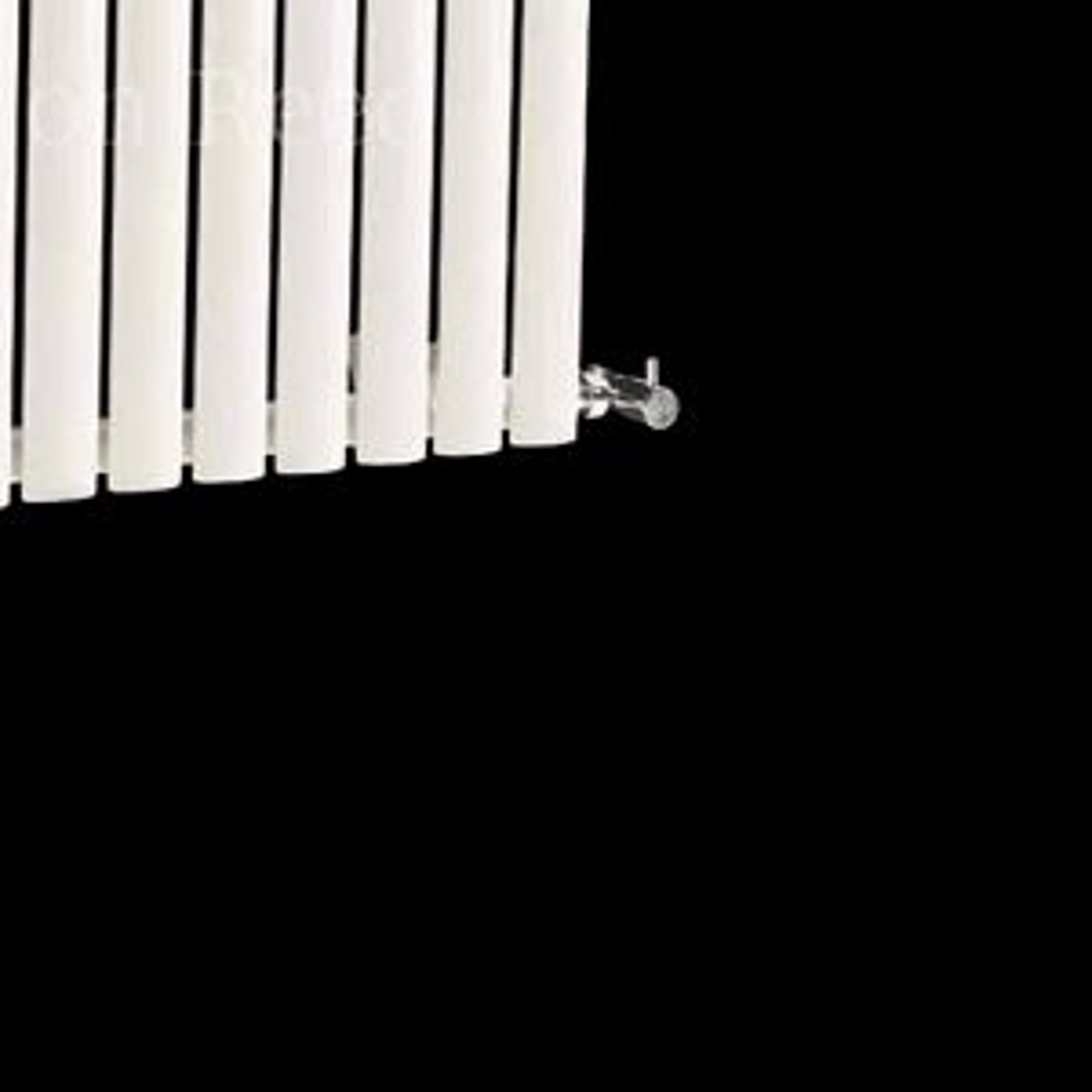 Hudson Reed Revive White Small Single Panel Designer Radiator Detail 1