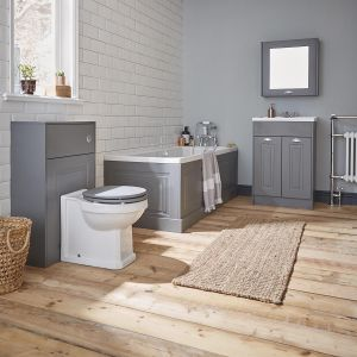 Kartell Astley Matt White Soft Close Toilet Seat Lifestyle