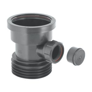 McAlpine DC1-BL-BO Drain Connector with Boss
