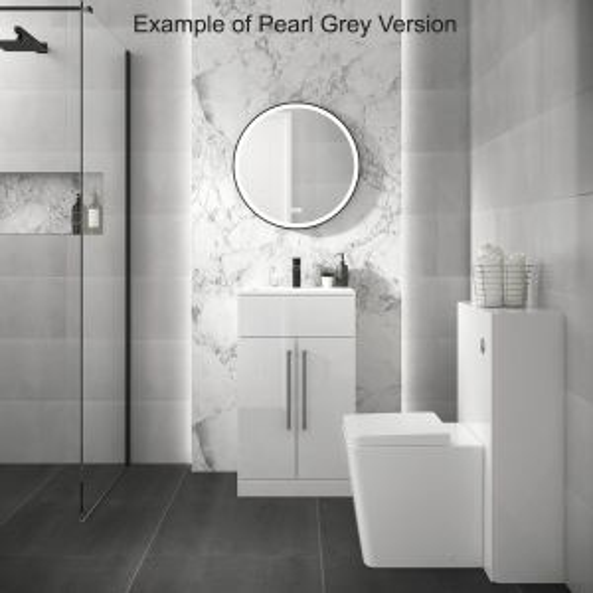 Mito Floor Standing Vanity Unit 500mm Lifestyle