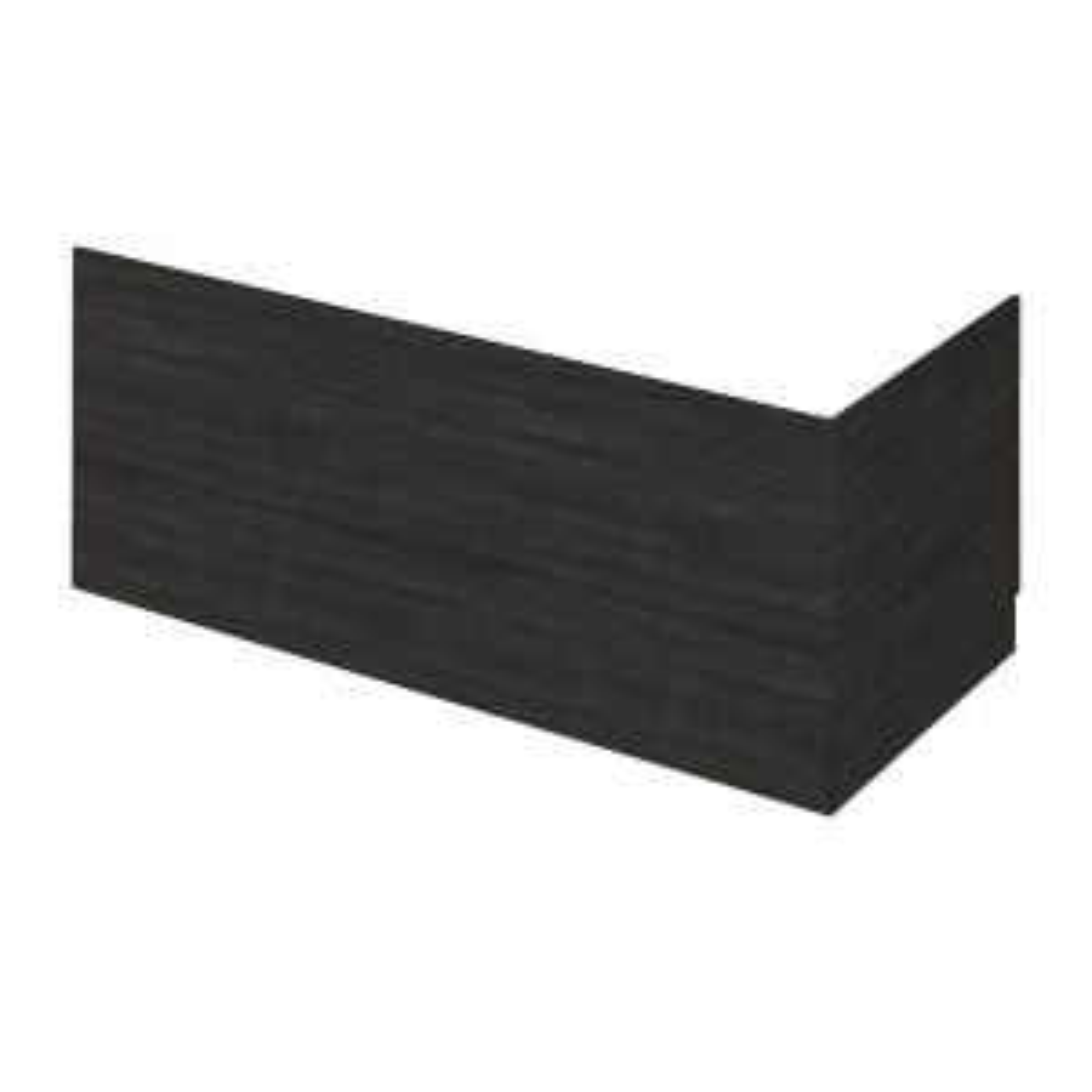 Nuie Athena Hacienda Black Front Panel 1700mm