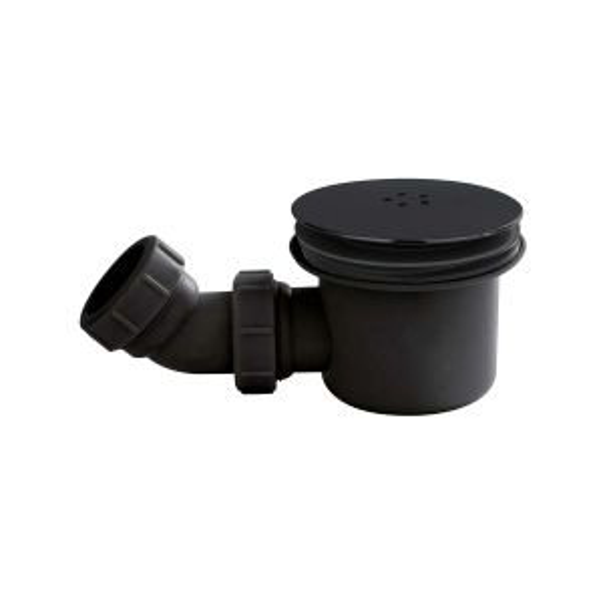 Nuie 90mm Black Shower Tray Waste