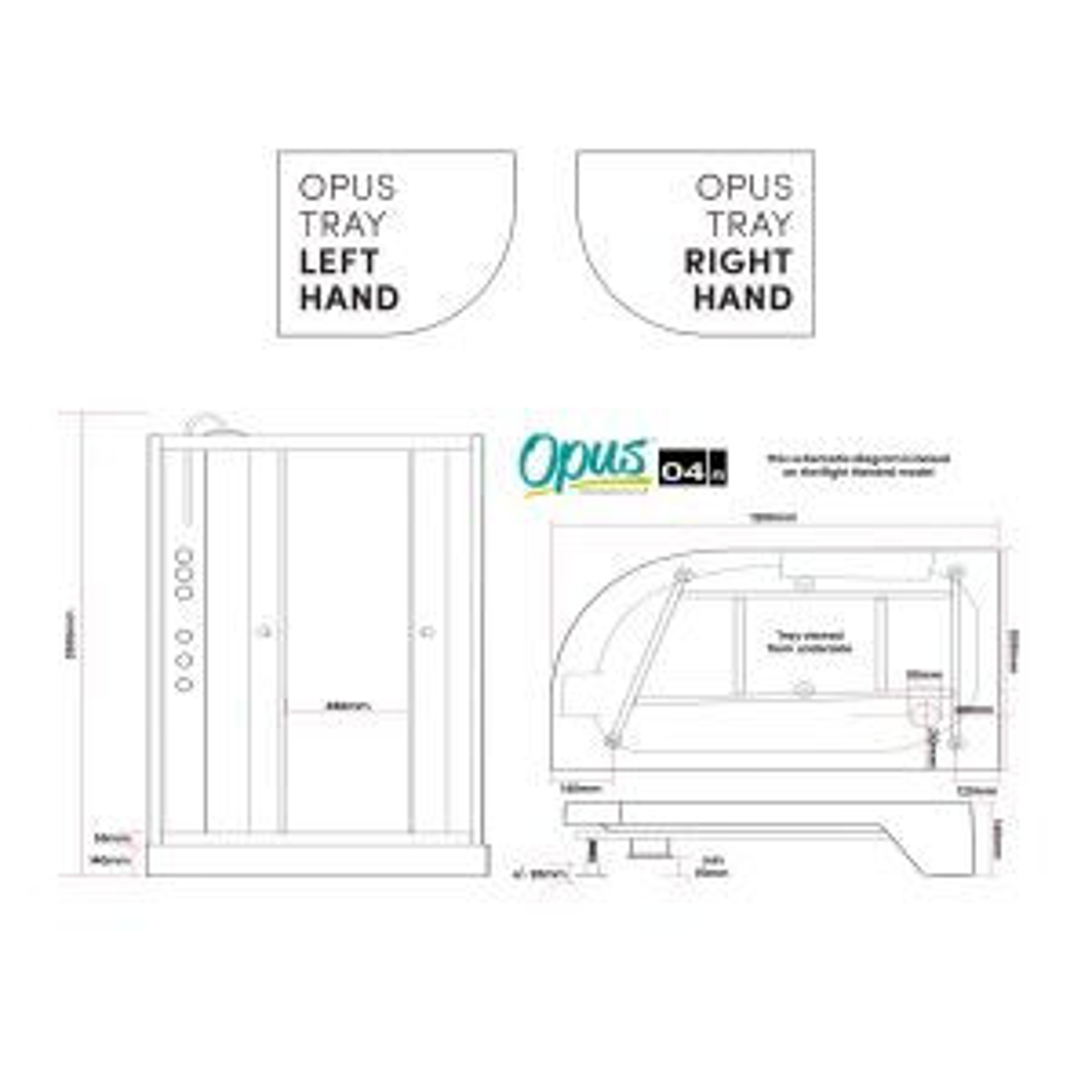 Premier Opus Quadrant Carbon White Cabin Dimensions
