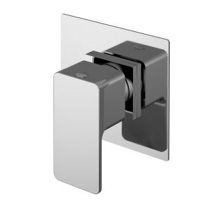 Nuie Windon Chrome Square Concealed Diverter 2/3/4 Way