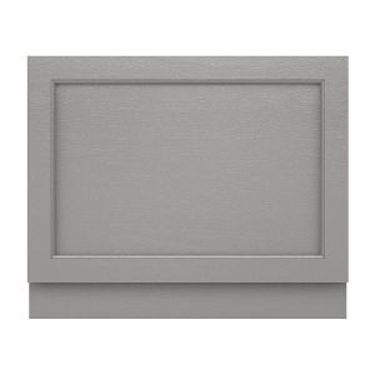 Old London Storm Grey End Bath Panel 700mm