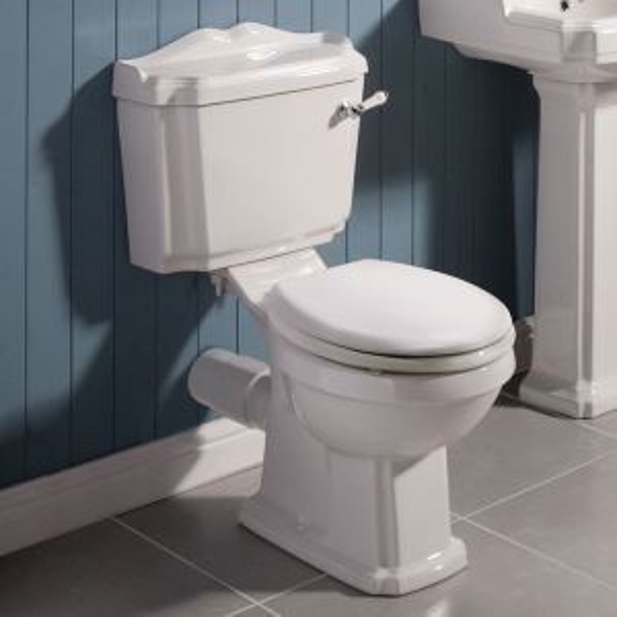 Premier Legend Close Coupled Toilet and Soft Close Seat
