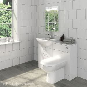 Nuie Madison Bathroom Furniture Pack with Square Basin