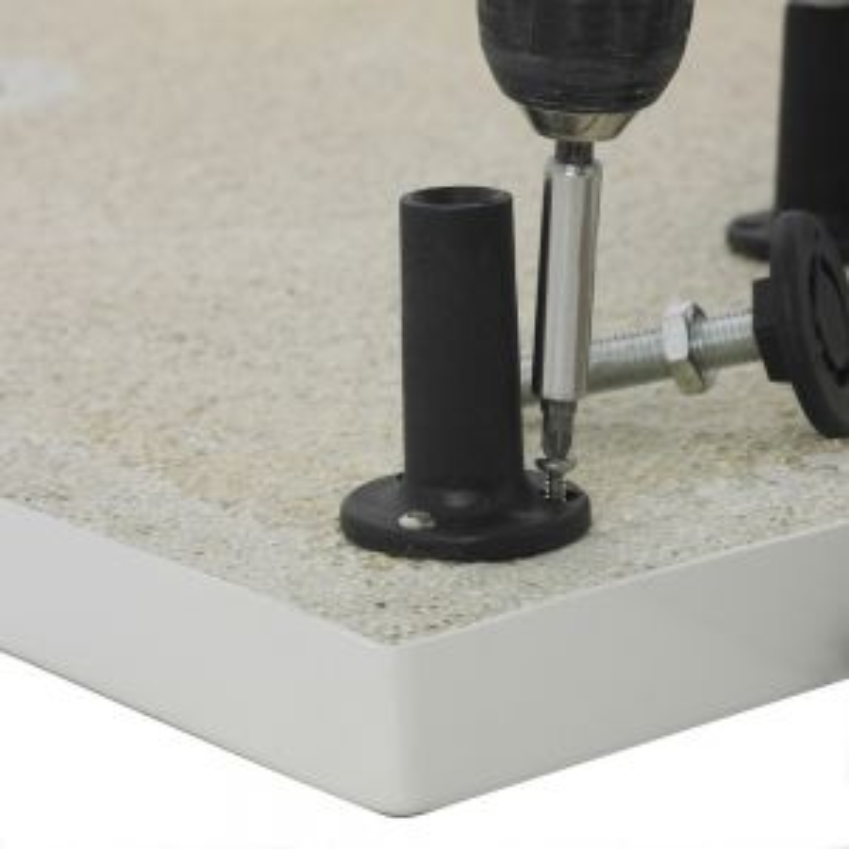 Premier Pearlstone Riser Shower Tray Riser Kit 700 - 1000mm Fitting