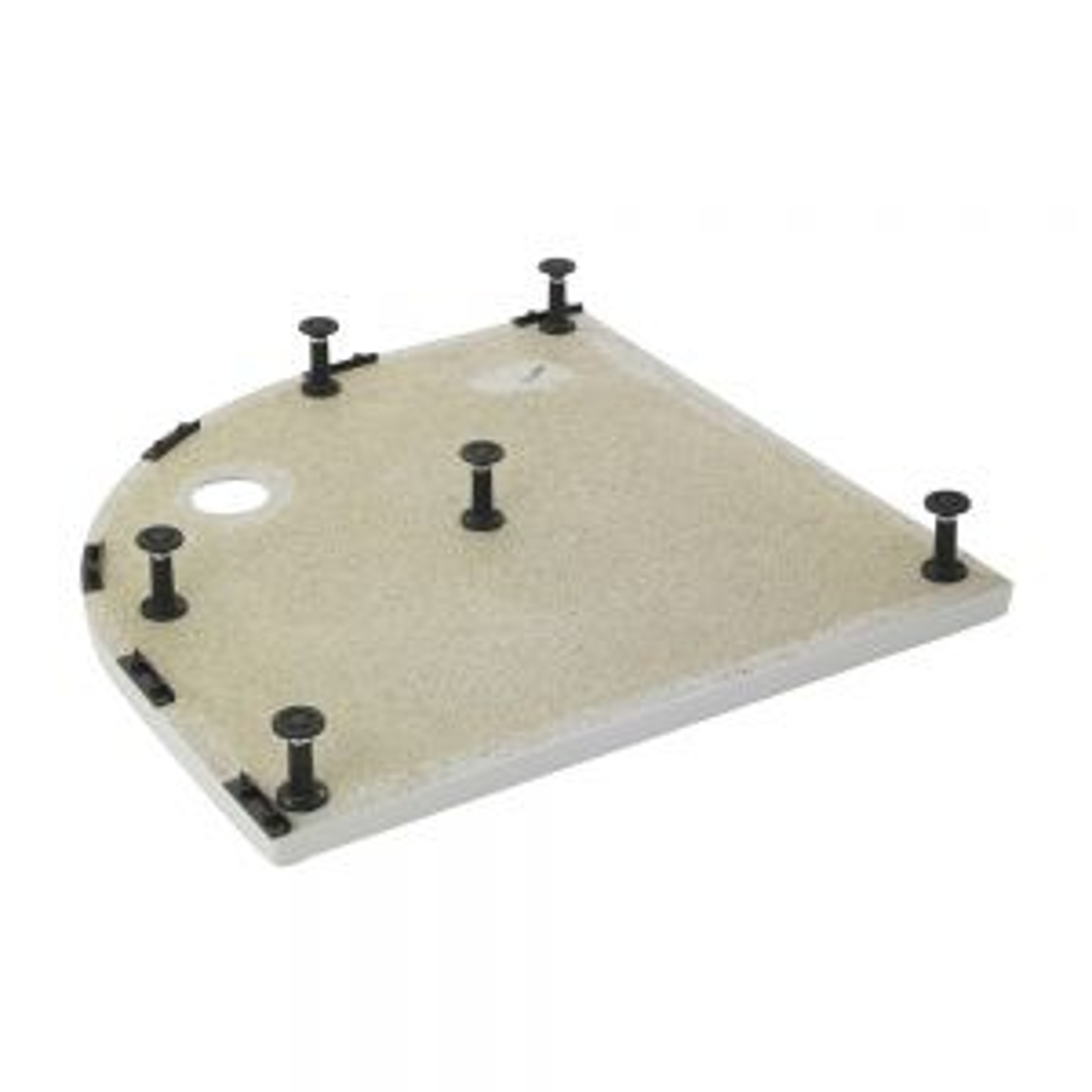 Premier Pearlstone D-Shaped Shower Tray Riser Kit Legs