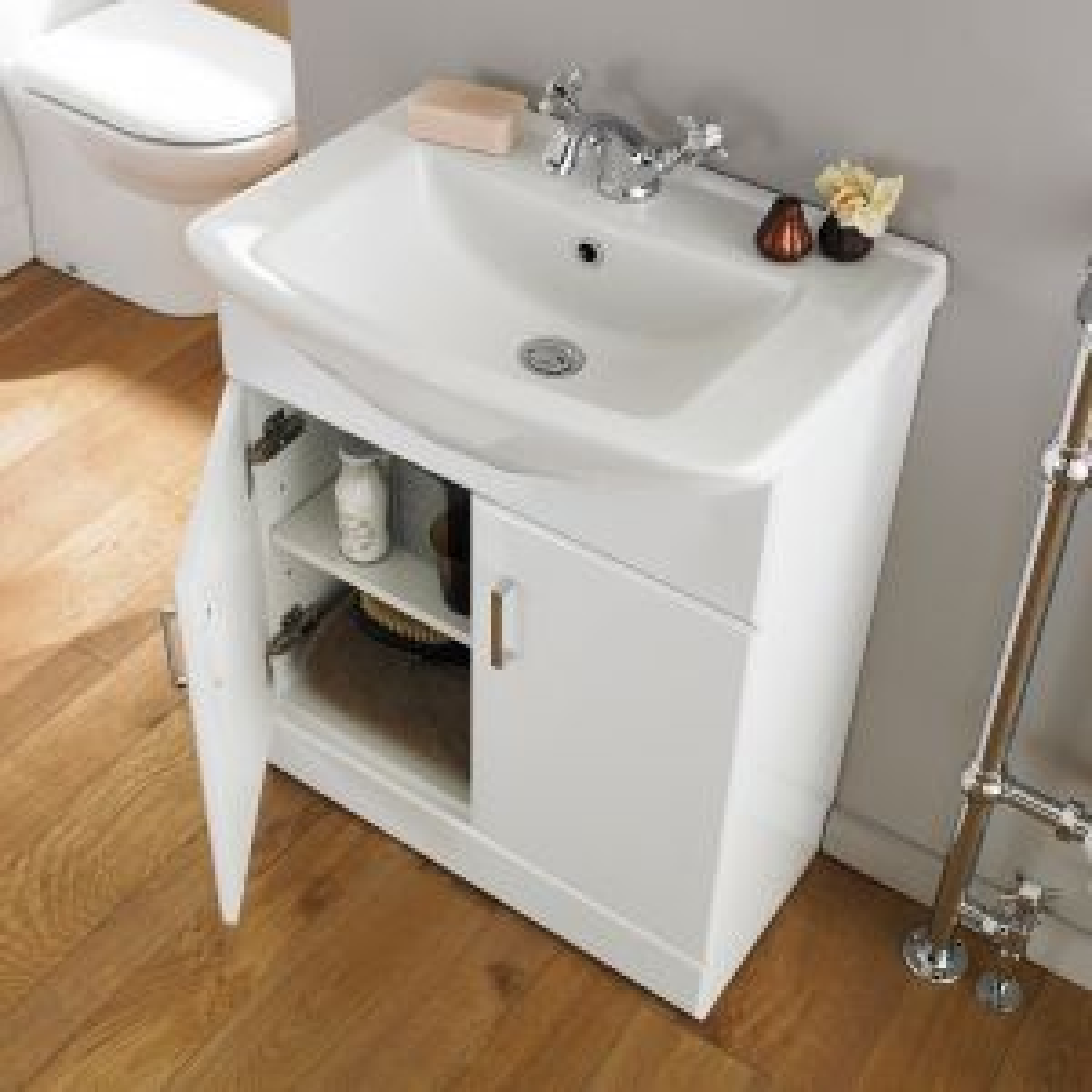 Nuie Madison Bathroom Furniture Pack Square Basin