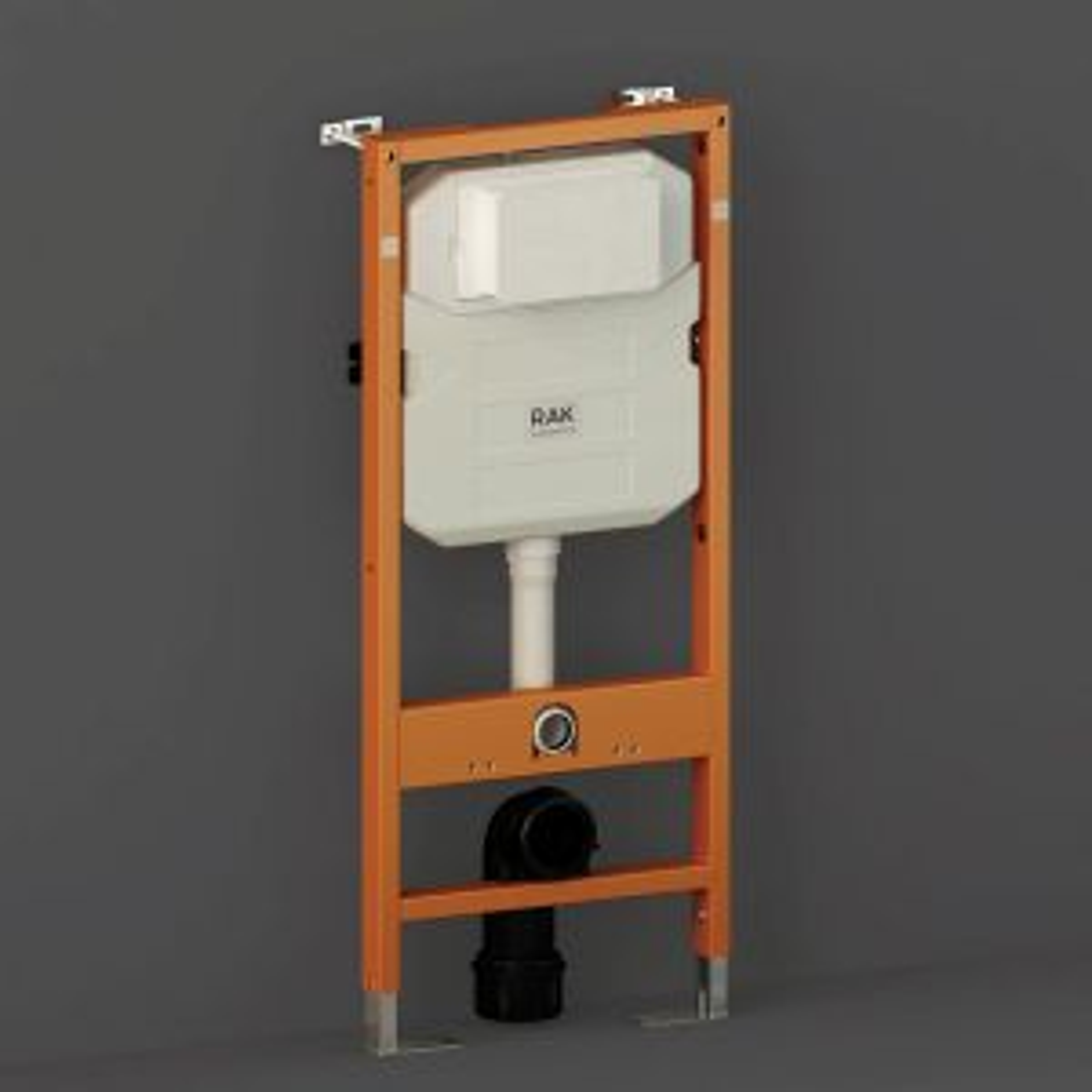 RAK Ecofix Regular Concealed Cistern with Metal Support Frame 500mm