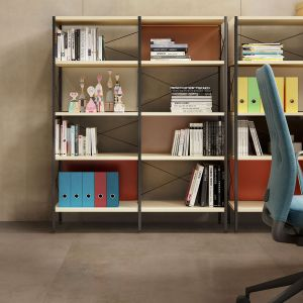 RAK Surface Charcoal Lappato Tile 750 x 750mm Lifestyle