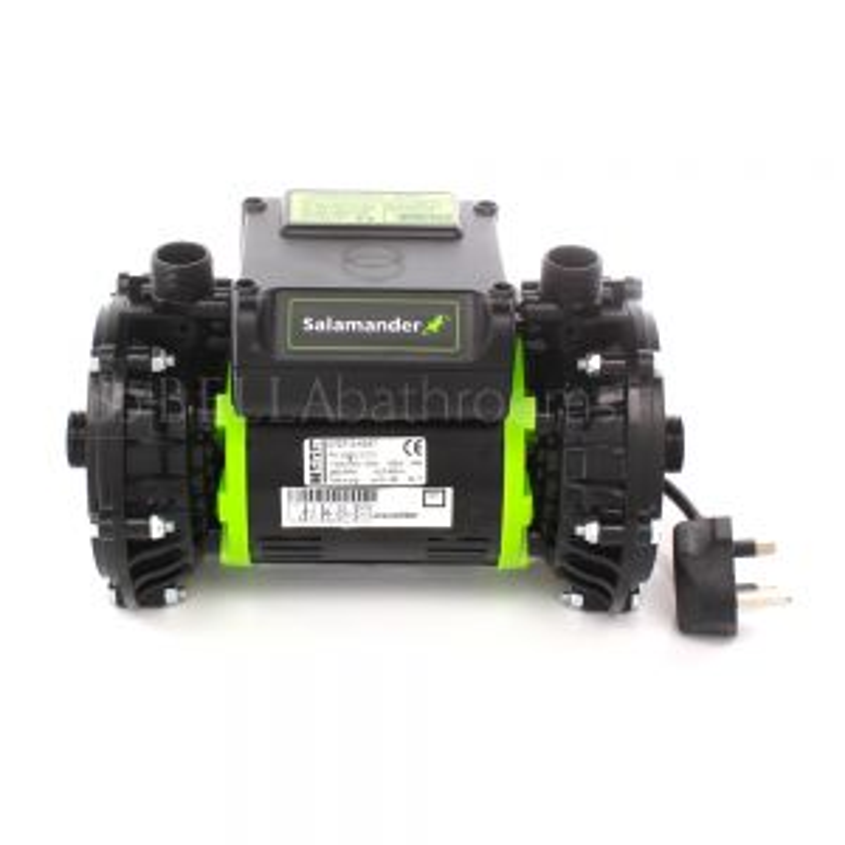 Salamander RP50PT 1.5 Bar Twin Positive Head Shower Pump Front