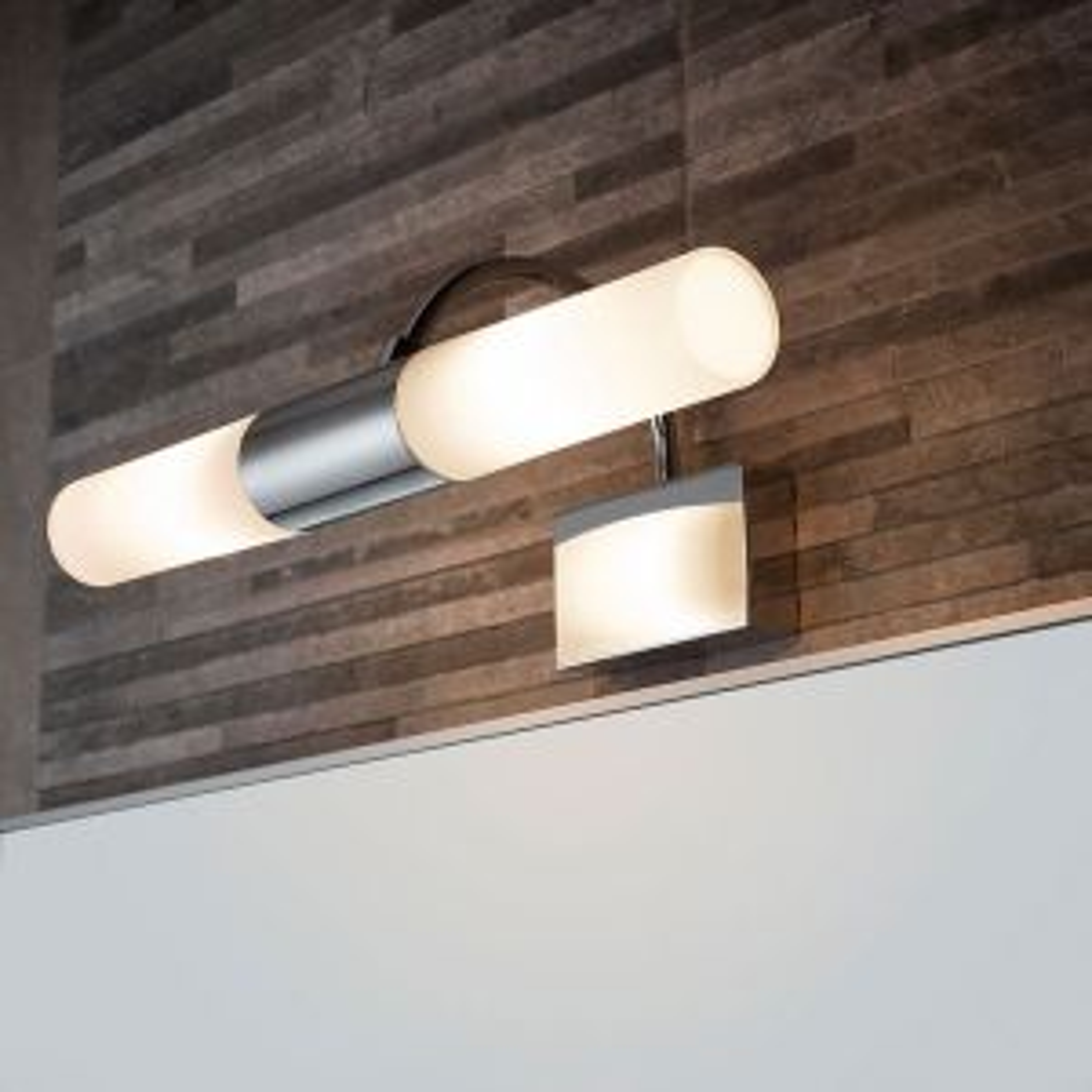 Sensio Phoenix Double Tube LED Wall Light Lifestyle