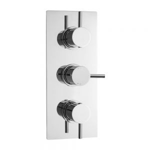Ultra Quest Triple Concealed Thermostatic Shower Valve with Diverter