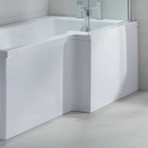 April L Shape Shower Bath Front Panel 1800mm