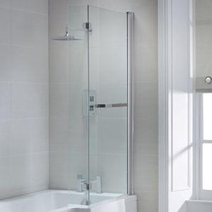 April L Shape Shower Bath Screen