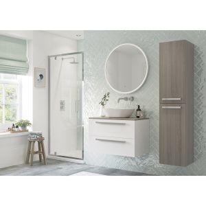 Bathrooms To Love RefleXion Flex Pivot Shower Door 760mm