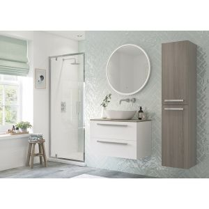 Bathrooms To Love RefleXion Flex Pivot Shower Door 900mm