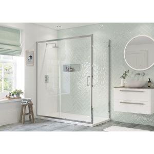 Bathrooms To Love RefleXion Flex Side Panel for Sliding Shower Door 800mm