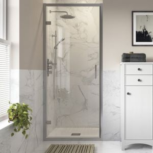 Bathrooms To Love Reflexion Iconix Hinged Shower Door 760mm