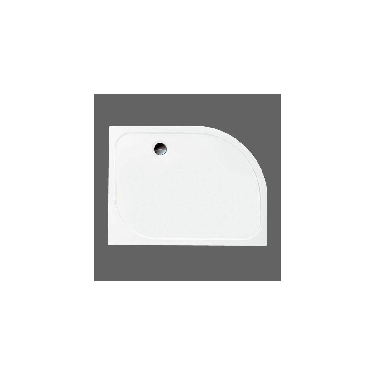Merlyn MStone Offset Quadrant Shower Tray Left  Hand 1200 x 900mm