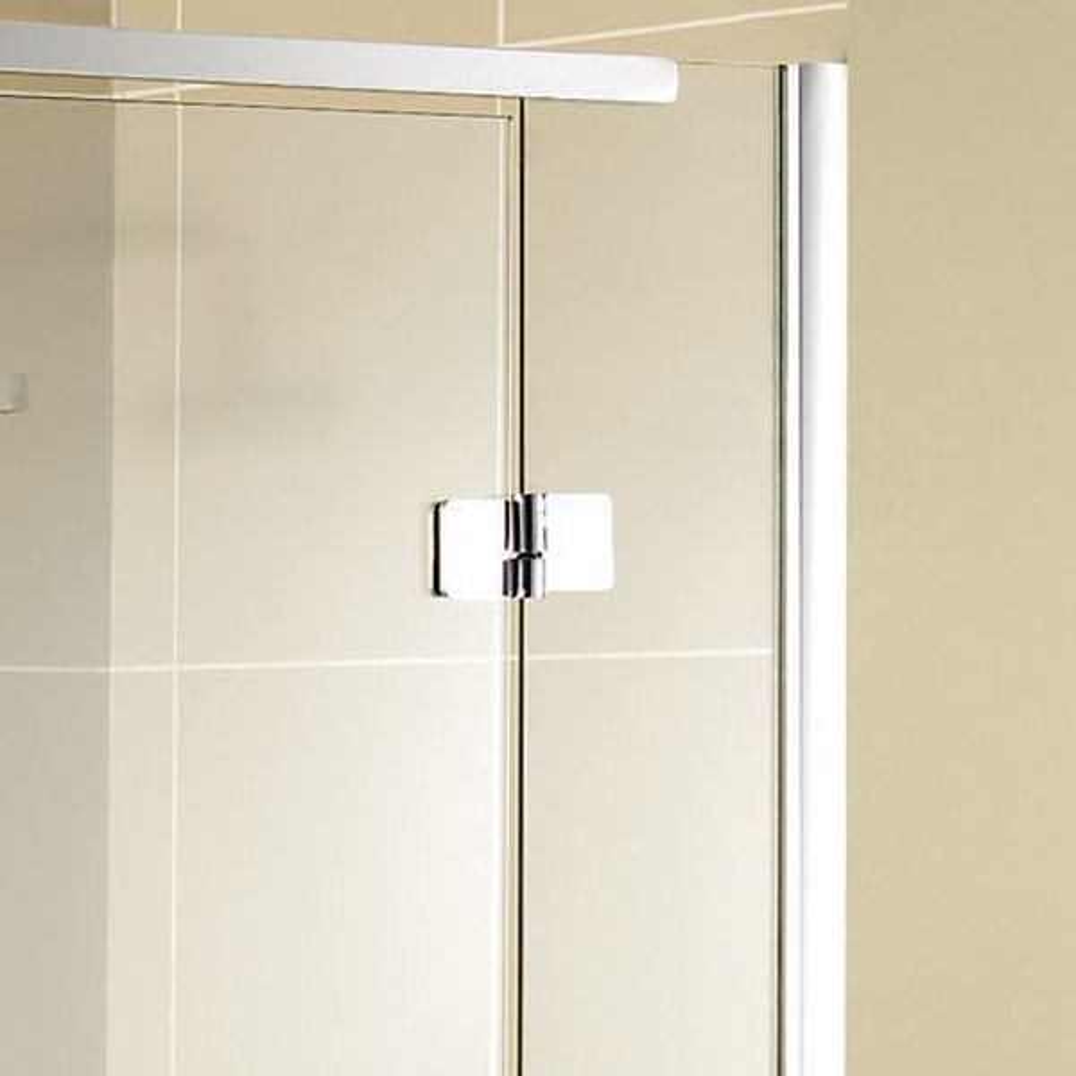 Aquadart Inline Hinged Recess Shower Door Detail 2