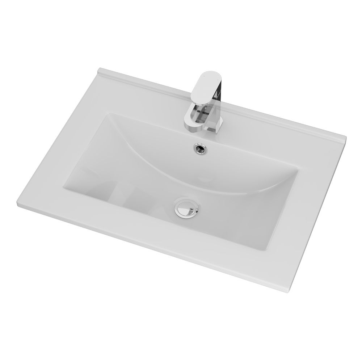 Cassellie Idon Ceramic Thin Edge Basin 600mm