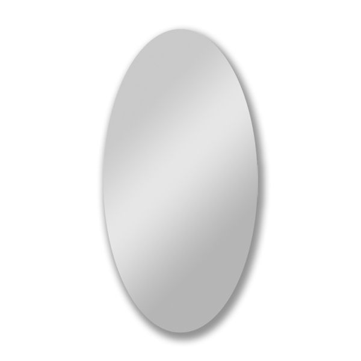 Croydex Belham Oval Mirror