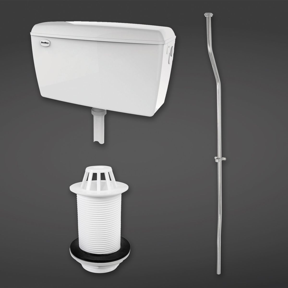 RAK Exposed Automatic Urinal Cistern 4.5L