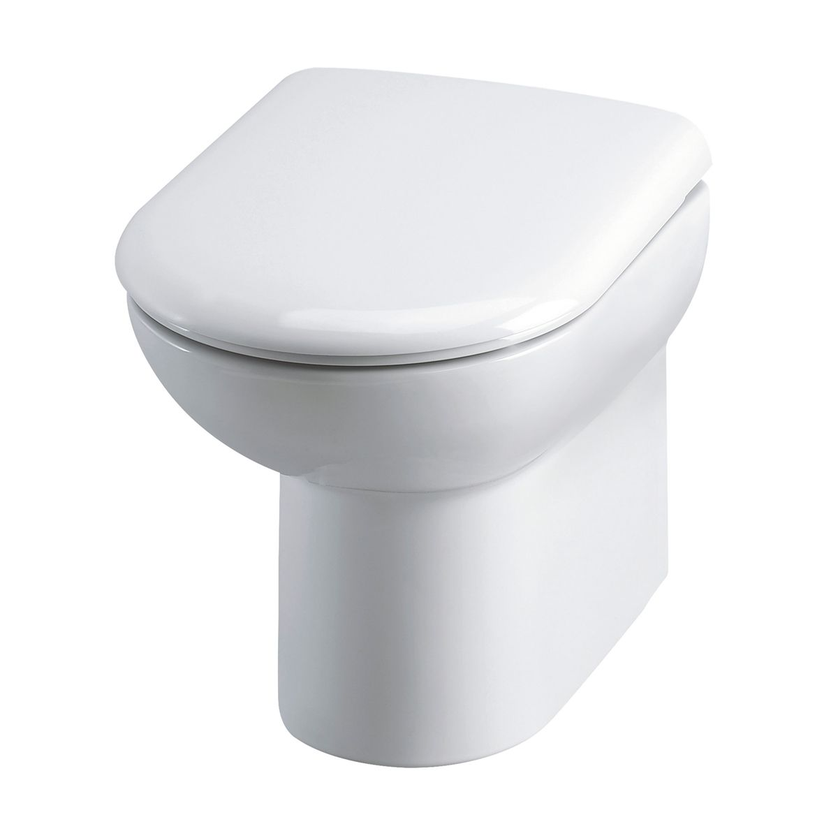 D-Shape Back To Wall Toilet and Soft Close Seat