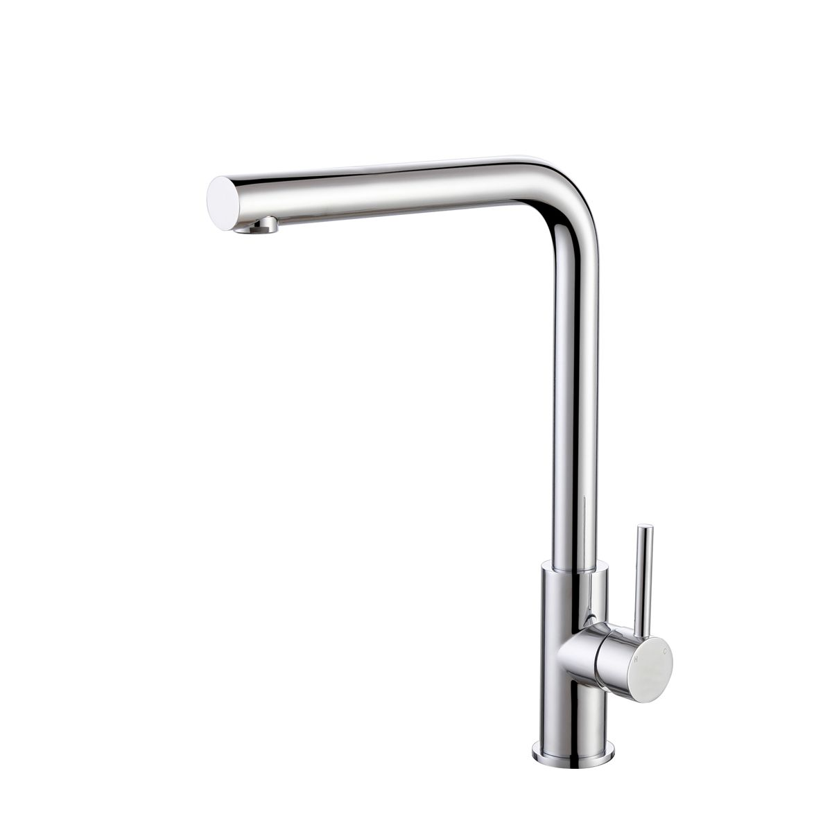 RAK Munich Chrome Side Lever Handle Kitchen Sink Mixer Tap