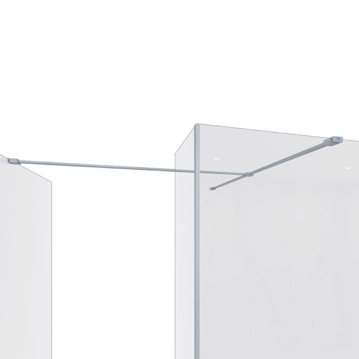 RAK Feeling Grey Bracing Kit with Side Panel Support