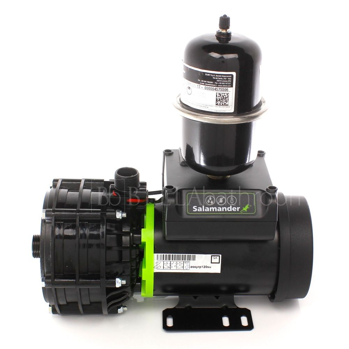 Salamander RP120SU 3.6 Bar Single Universal Whole House Shower Pump Back