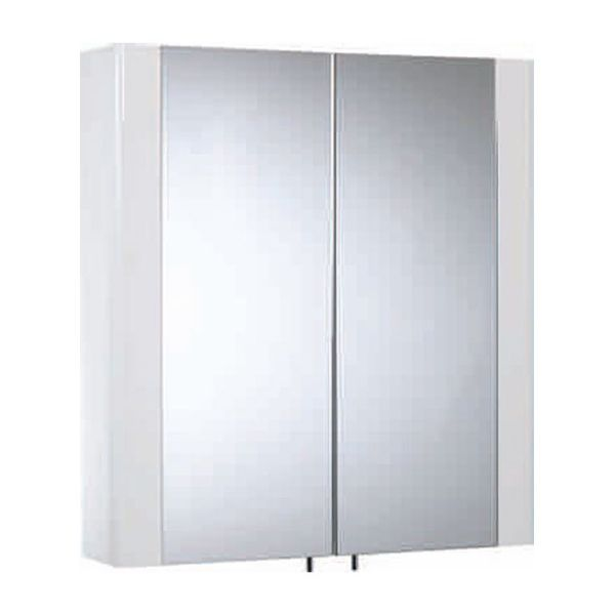 Tavistock Detail Gloss White Double Door Cabinet