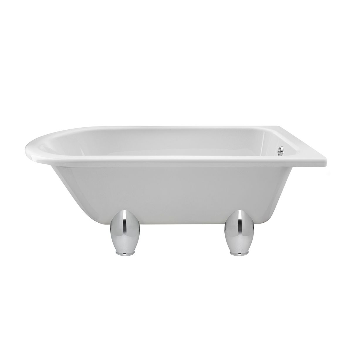 Winterburn Roll Top Bath with Deacon Feet