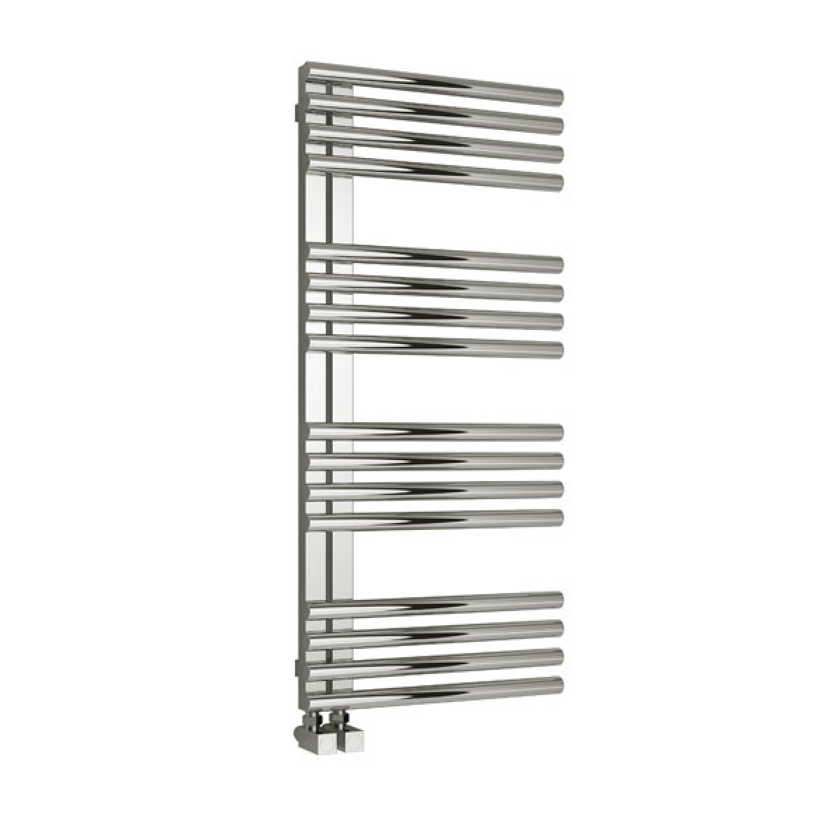 Reina Adora Polished Finish Stainless Steel Electric Radiator 1106mm x 500mm