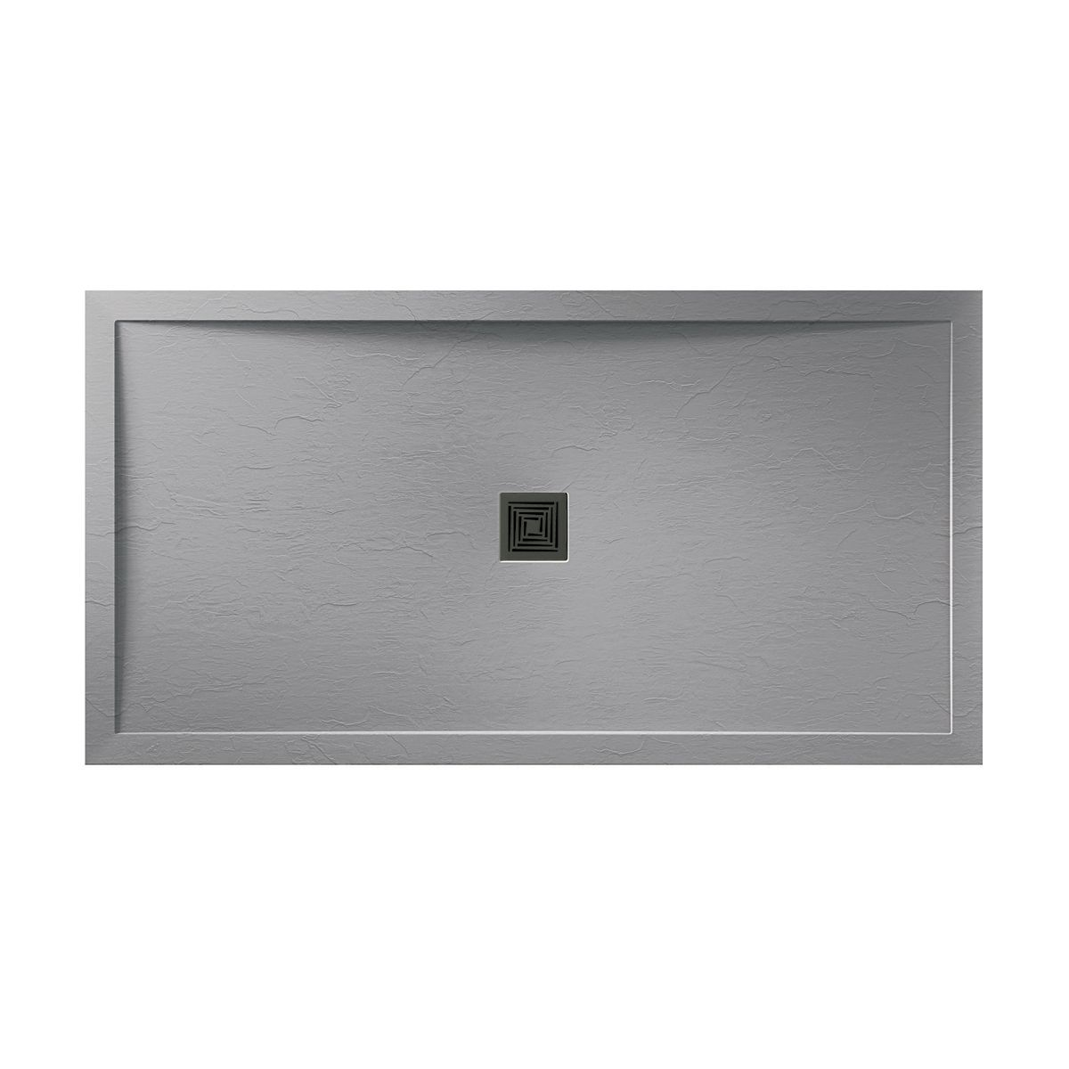 Aquadart Grey Slate Shower Tray 1400 x 700