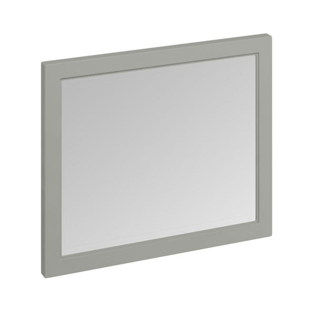 Burlington Dark Olive Without LED Bathroom Mirror 900mm