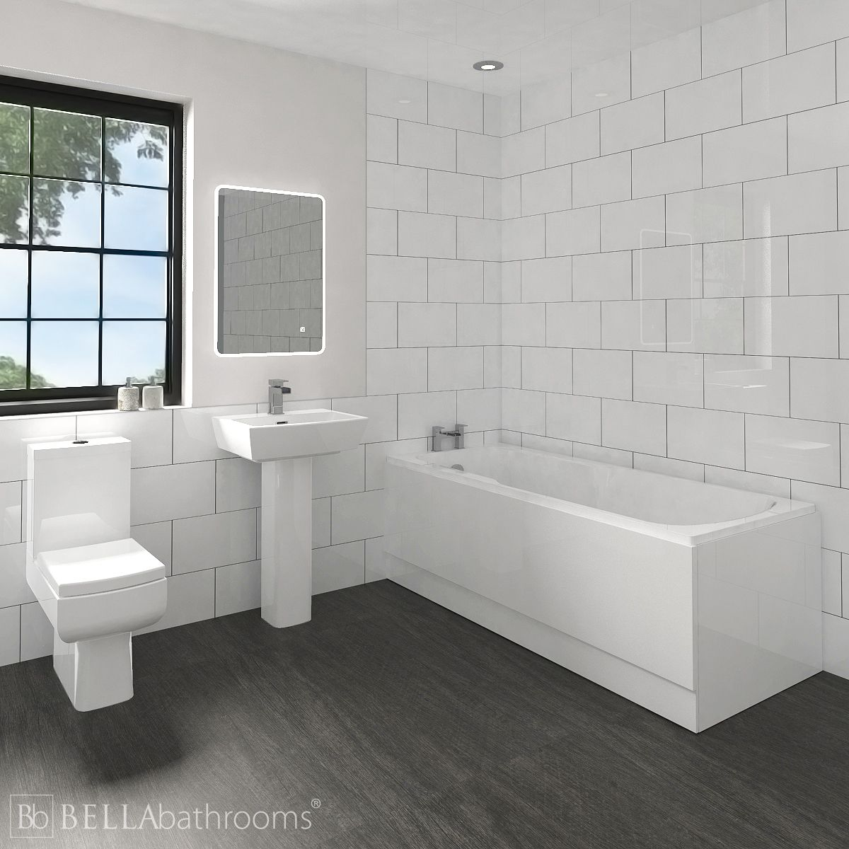 Cassellie Daisy Lou Bathroom Suite