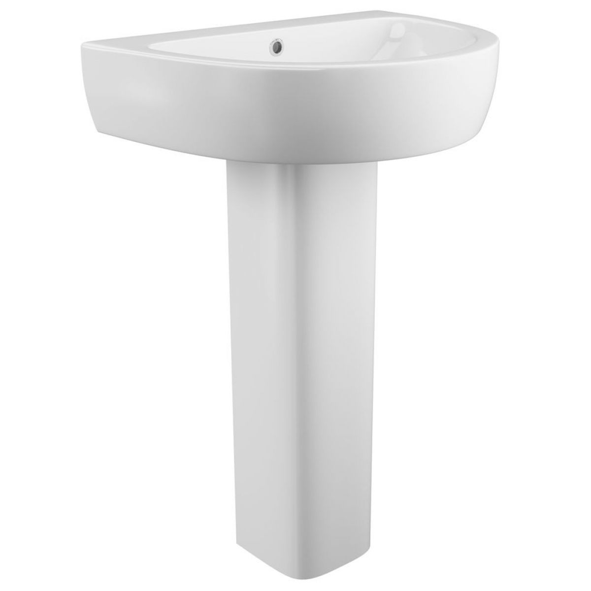 Cassellie Loxley 1 Tap Hole Basin with Full Pedestal