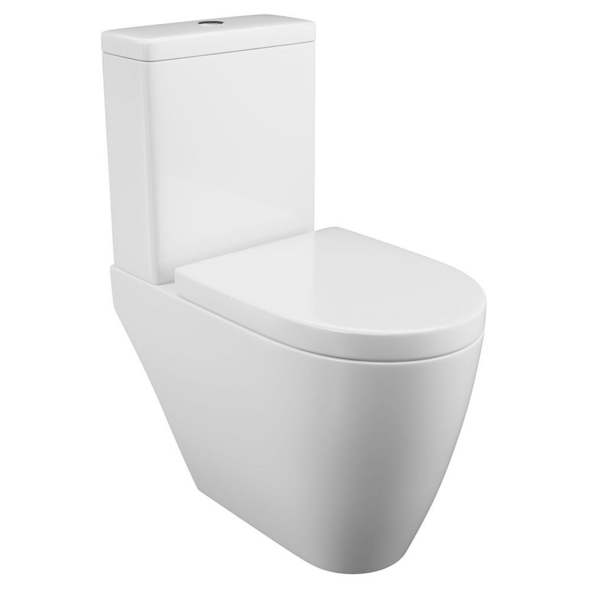 Cassellie Loxley Close Coupled Toilet with Wrapover Seat