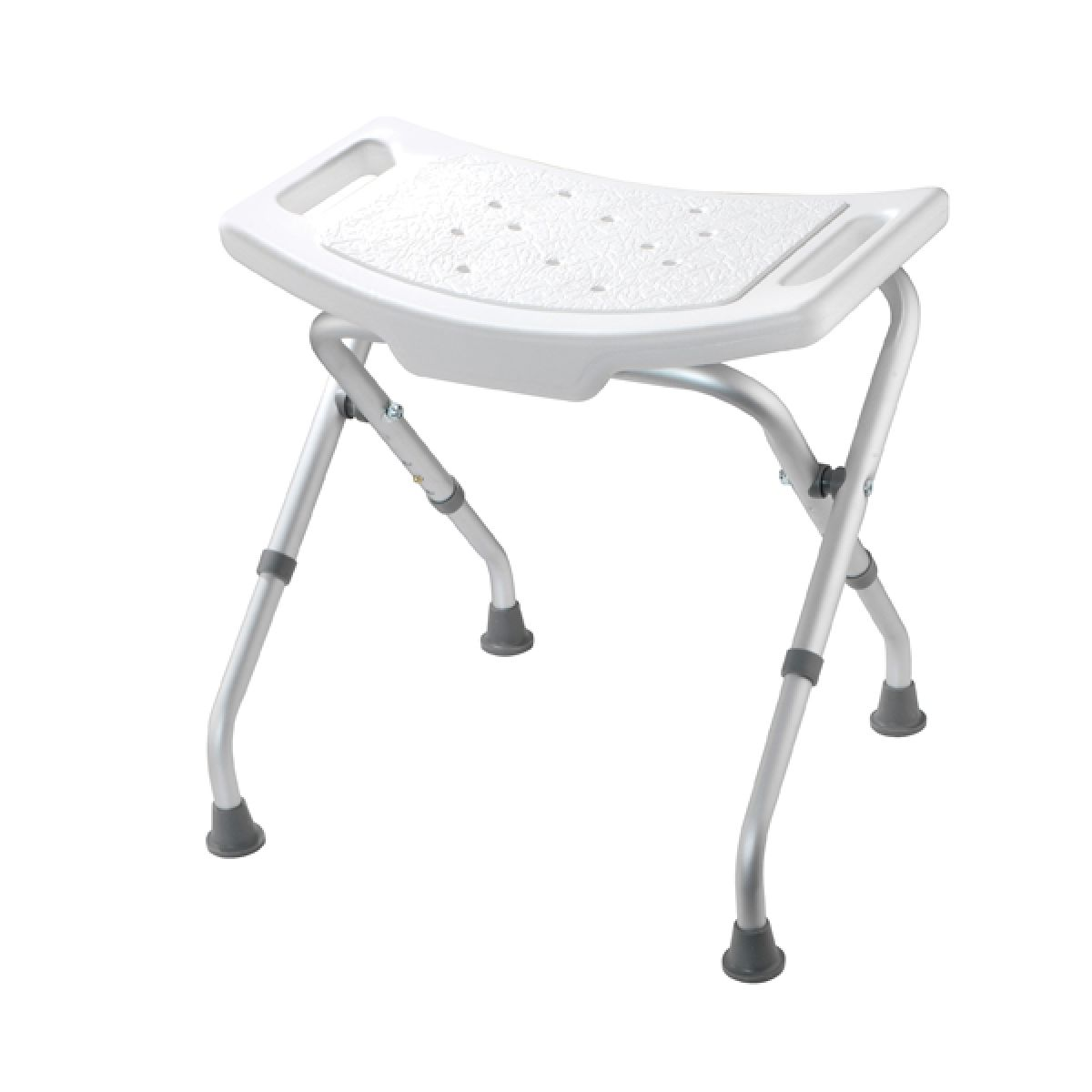 Croydex Adjustable Bathroom and Shower Seat White