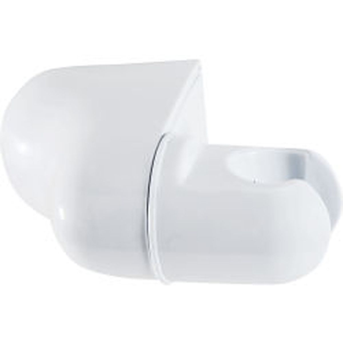 Croydex Adjustable Shower Wall Bracket White